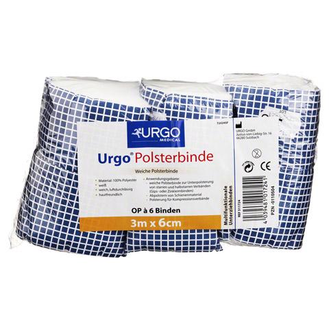 URGO POLSTERBINDE 6 cmx3 m 6 St�ck