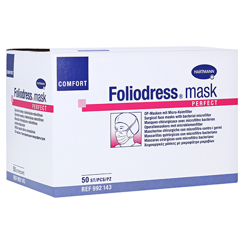 FOLIODRESS mask Comfort perfect grün Op-Masken 50 Stück