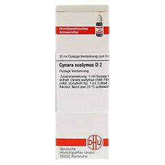 CYNARA SCOLYMUS D 2 Dilution 20 Milliliter N1 - Vorderseite