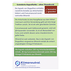 DOPPELHERZ Artischocke+Oliven�l+Curcuma Kapseln 30 St�ck - R�ckseite
