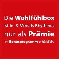 Wohlf�hlbox 1 St�ck - Vorderseite