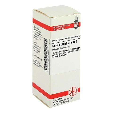 SALVIA OFFICINALIS D 6 Dilution 20 Milliliter N1