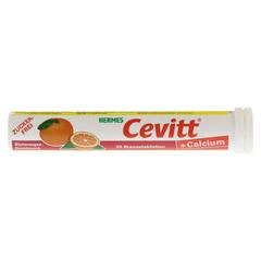 HERMES Cevitt+Calcium Blutorange Brausetabletten 20 Stück