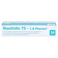 Ranitidin 75-1A Pharma 10 Stück - Oberseite
