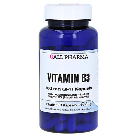 VITAMIN B3 100 mg GPH Kapseln 120 Stück