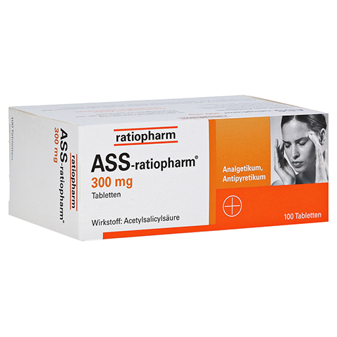 ASS-ratiopharm 300mg 100 St�ck