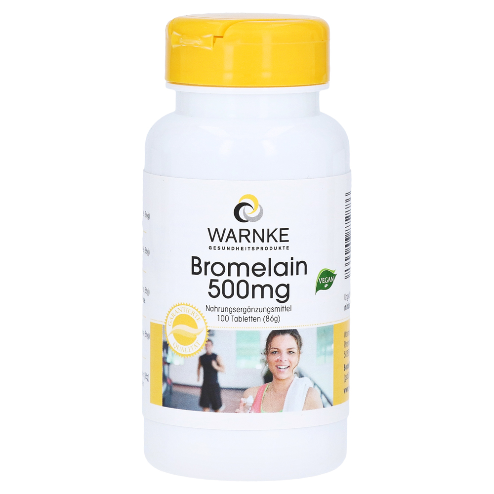 bromelain 500 mg tabletten 100 st ck online bestellen medpex versandapotheke. Black Bedroom Furniture Sets. Home Design Ideas
