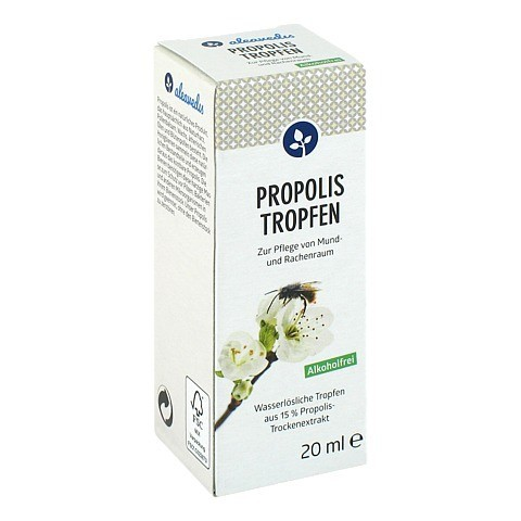 PROPOLIS TROPFEN ohne Alkohol 20 Milliliter