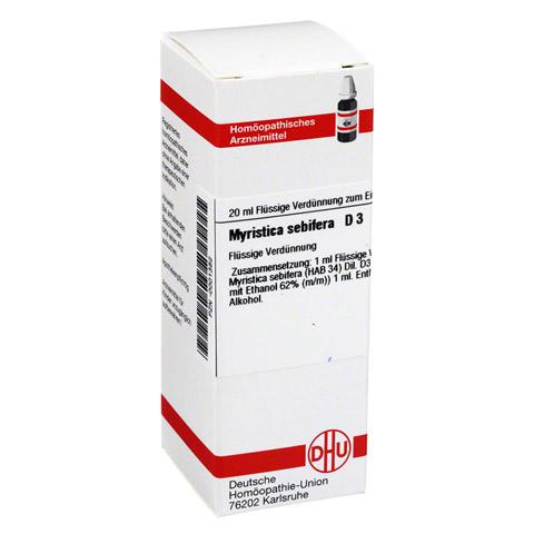 MYRISTICA SEBIFERA D 3 Dilution 20 Milliliter N1