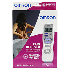 OMRON E4 Tens Ger�t 1 St�ck - Vorderseite