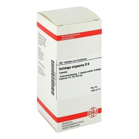 SOLIDAGO VIRGAUREA D 6 Tabletten 200 Stück N2