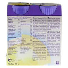 FORTIMEL Energy Vanillegeschmack 8x4x200 Milliliter - Rückseite