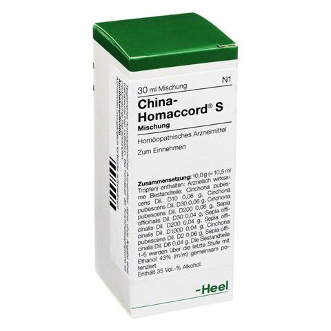 CHINA HOMACCORD S Tropfen 30 Milliliter N1