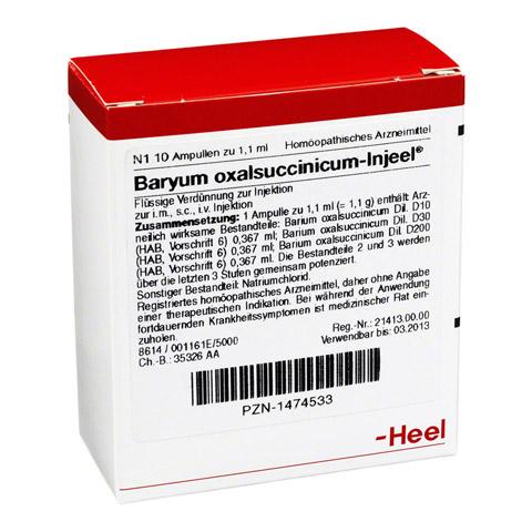 BARYUM oxalsuccinicum Injeel Ampullen 10 Stück N1