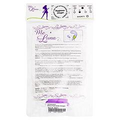 MENSTRUATIONSTASSE Me Luna Classic Gr.M violett 1 St�ck - R�ckseite