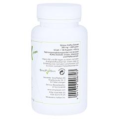 GRÜNER KAFFEE Extrakt 300 mg UBX green Kapseln 90 Stück - Linke Seite