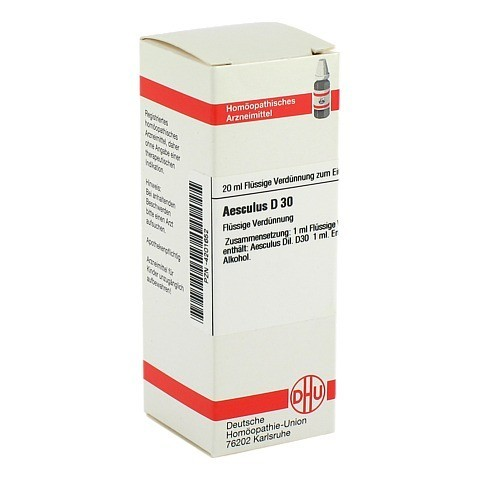 AESCULUS D 30 Dilution 20 Milliliter N1