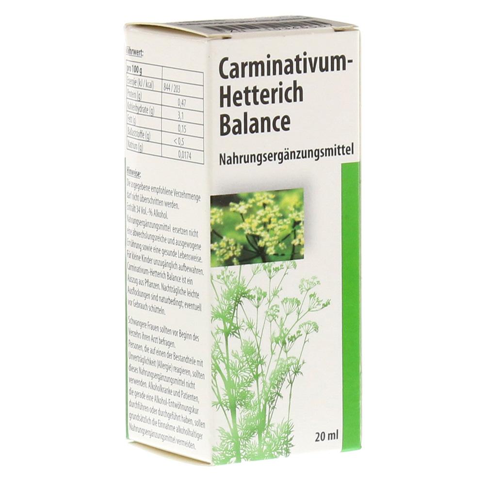Teofarma s.r.l. CARMINATIVUM Hetterich Balance Tropfen z.Einnehmen 20 Milliliter