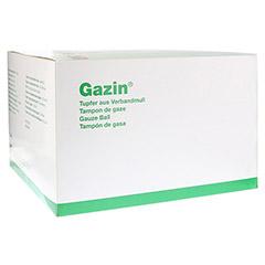 GAZIN Tupfer pflaum.steril 2+2 Schutzr.o.RK 100 Stück