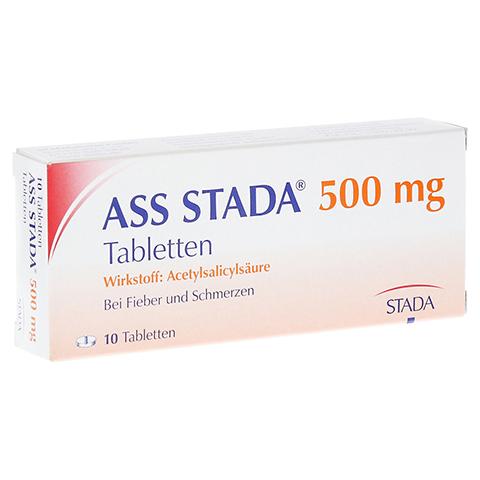 ASS STADA 500mg 10 Stück N1