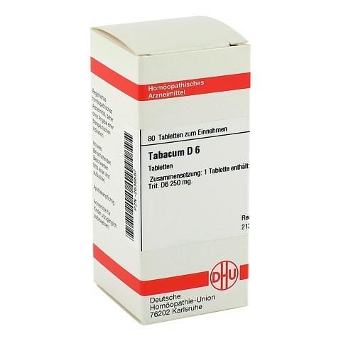 TABACUM D 6 Tabletten 80 Stück N1