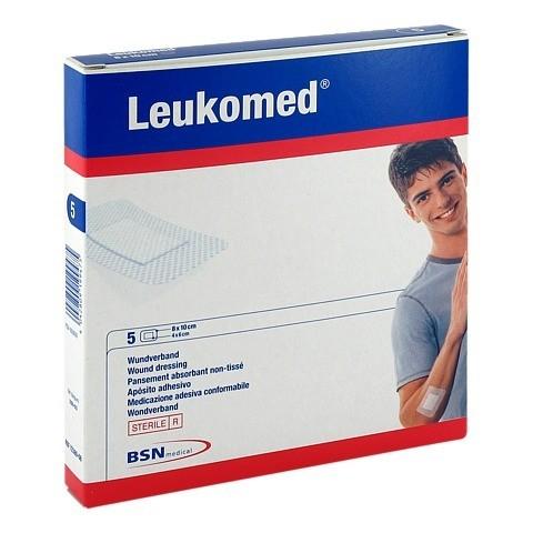 LEUKOMED sterile Pflaster 8x10 cm 5 St�ck