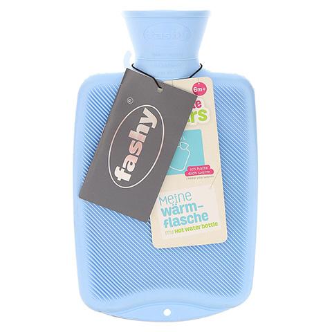 FASHY Kinderwärmflasche Halblamelle hellblau 1 Stück