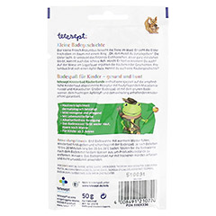 TETESEPT Kinder Badespaß Knisterbad Räuberbande 50 Gramm - Rückseite