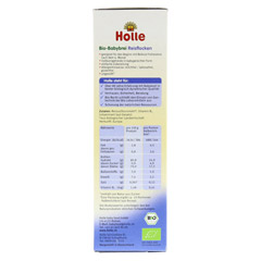 HOLLE Bio Babybrei Reisflocken 250 Gramm - Linke Seite