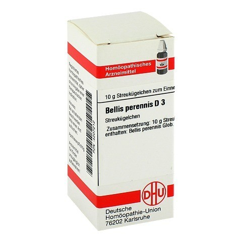 BELLIS PERENNIS D 3 Globuli 10 Gramm N1
