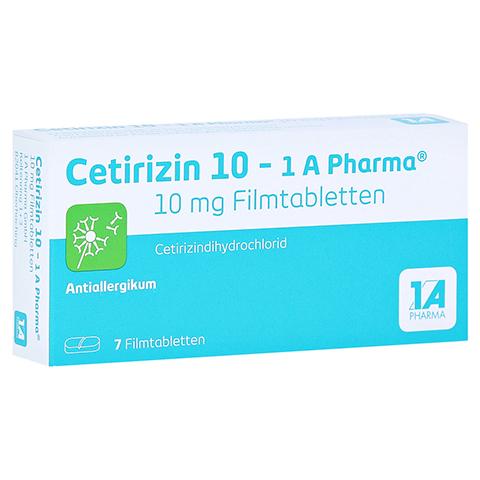 Cetirizin 10-1A Pharma 7 St�ck
