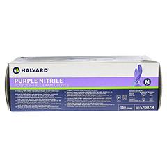SAFESKIN Purple Nitrile Unt.Handsch.M 100 Stück - Unterseite