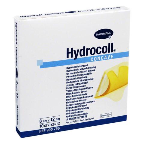 HYDROCOLL concave Wundverband 8x12 cm 10 St�ck