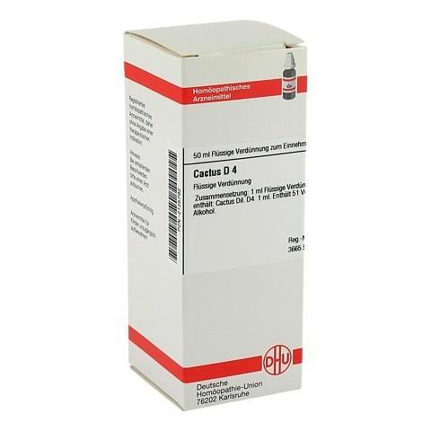 CACTUS D 4 Dilution 50 Milliliter N1