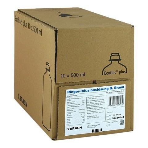 RINGER L�SUNG B.Braun Ecoflac Plus 10x500 Milliliter N2