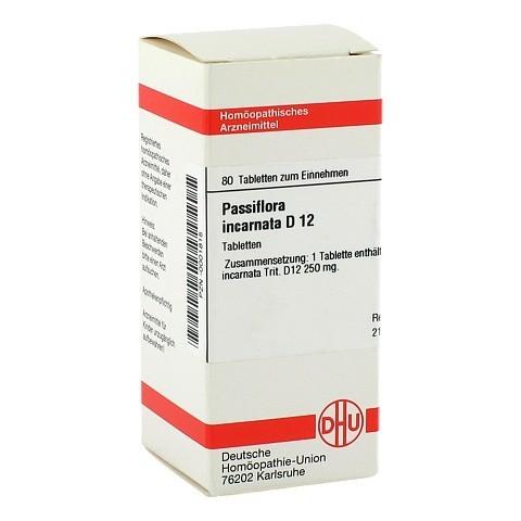 PASSIFLORA INCARNATA D 12 Tabletten 80 Stück N1