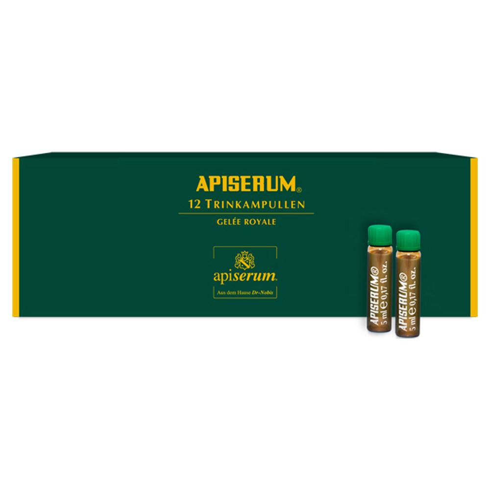 APISERUM Trinkampullen mit Gelee Royale 12x5 Milliliter