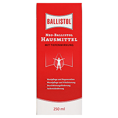NEO BALLISTOL Hausmittel flüssig 250 Milliliter - Vorderseite