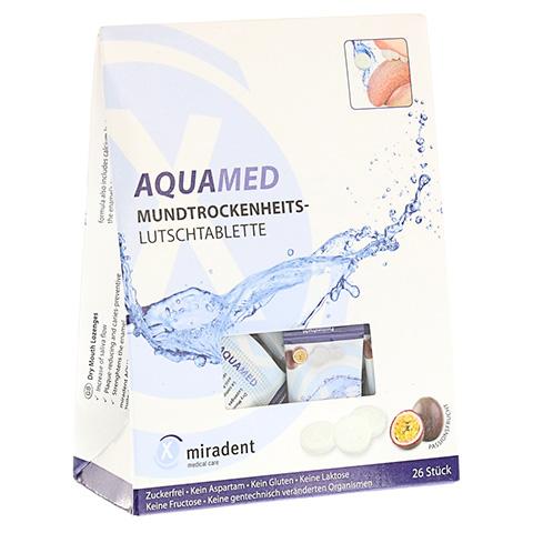 MIRADENT Aquamed Mundtrockenheitslutschtablette 60 Gramm