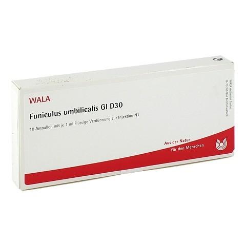 FUNICULUS UMBILICALIS GL D 30 Ampullen 10x1 Milliliter N1