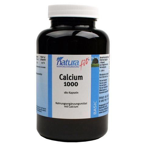 NATURAFIT Calcium 1.000 Kapseln 180 Stück