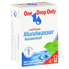 ONE DROP Only natürl.Mundwasser Konzentrat 10 Milliliter