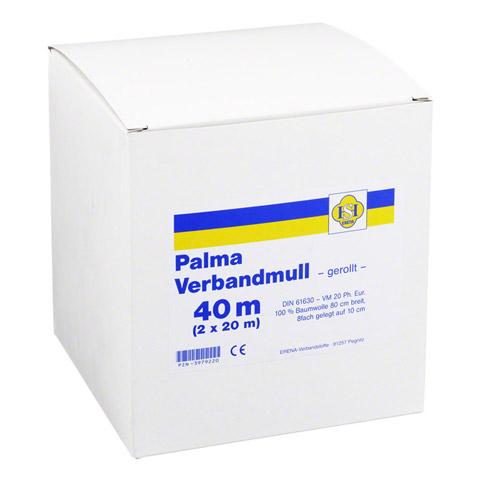 PALMA Verbandmull 80 cm 40 m Rolle o.Spender 1x40 Meter