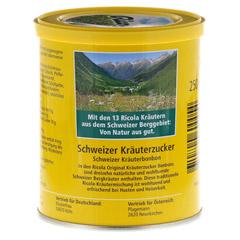 Ricola m.Z. Kräuter Bonbons 250 Gramm - Rückseite