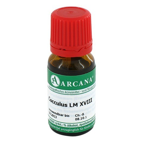 COCCULUS Arcana LM 18 Dilution 10 Milliliter N1