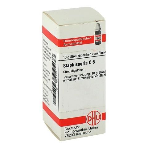 STAPHISAGRIA C 6 Globuli 10 Gramm N1