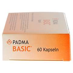 PADMA Basic Kapseln 60 Stück - Linke Seite
