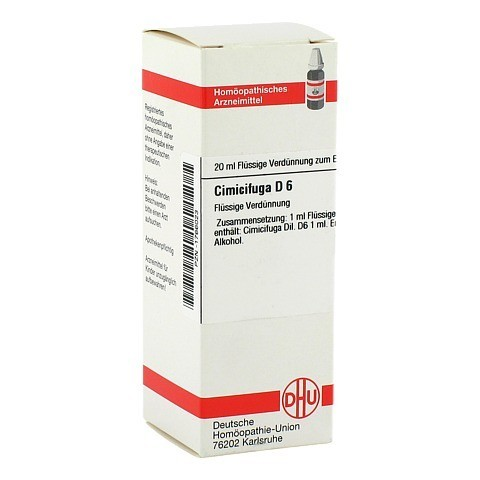 CIMICIFUGA D 6 Dilution 20 Milliliter N1