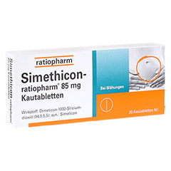 Simethicon-ratiopharm 85mg 20 St�ck N1