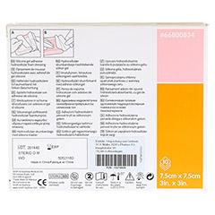 ALLEVYN Gentle Border Lite 7,5x7,5 cm Schaumverb. 10 St�ck - R�ckseite